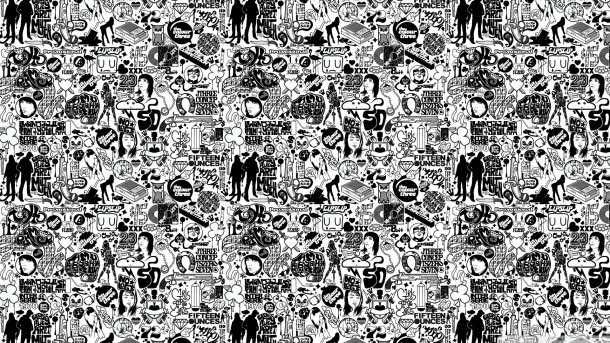 white wallpaper 61