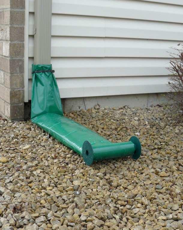 Rainguard 9309W Automatic Downspout Extension