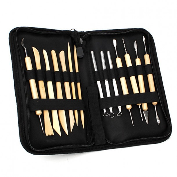 Ceramic Clay Pottery Tools Sculpting Kit