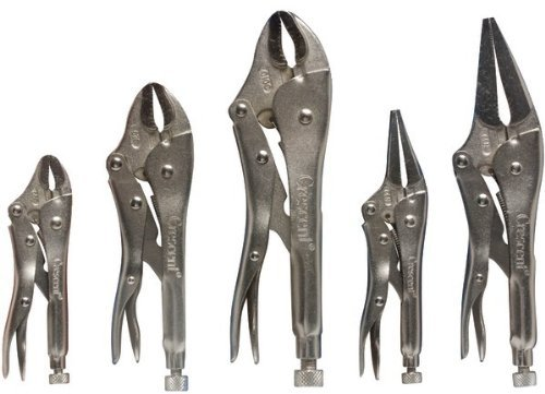 Crescent 5-Piece Locking Plier Sets