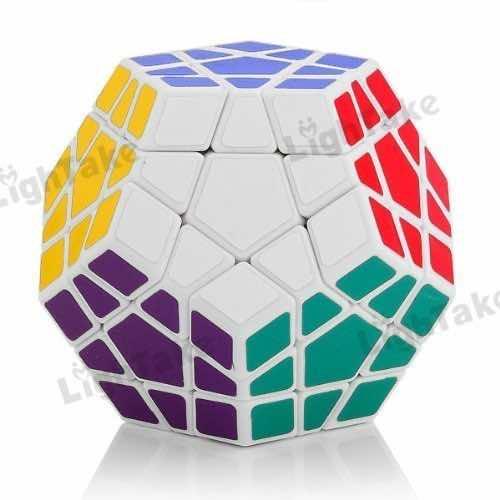 Shengshou Megaminx White Speed Rubiks Cube Puzzles