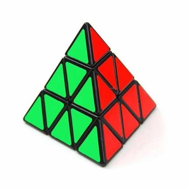 Shengshou Pyraminx Speedcubing Black Puzzle Rubik's Cube Puzzles