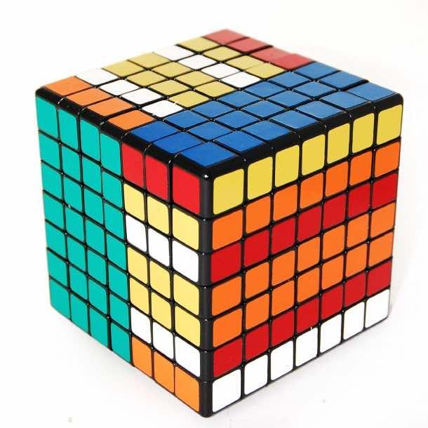 7x7x7 Rubiks Cube Puzzles, Shengshou