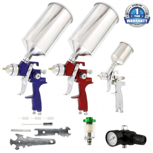10 Best Paint Spray Guns For Hobbyists And Professionals