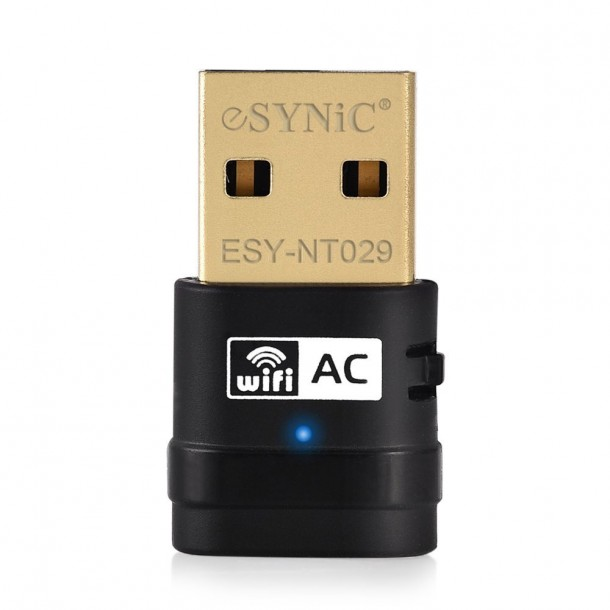 AC 600Mbps Dual Band USB WiFi Adapter ESYNiC