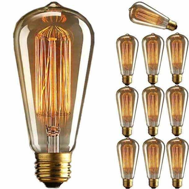 10 Best Vintage filament light bulbs (3)