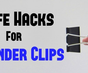 10 Wonderful Binder Clips Life Hacks
