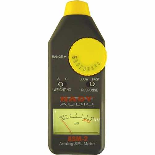 Nady ASM-2 Analog Sound Pressure Level Monitor