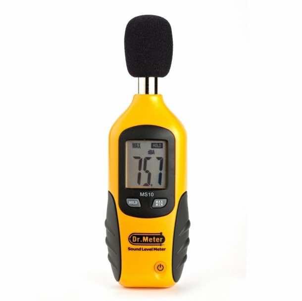 Dr.Meter® MS10 Digital Decibel Sound Level Meter