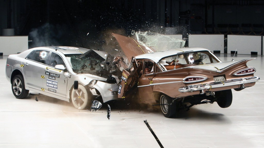 1959 2009 chevrolet crash test