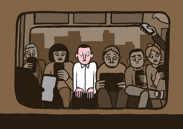 Addicted To Technology Illustrations By Jean Jullien 1