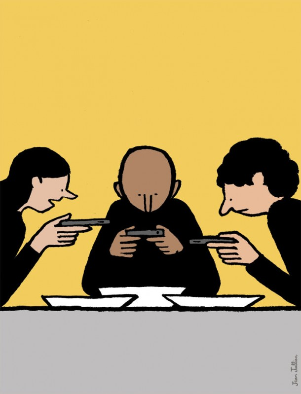 Addicted To Technology Illustrations By Jean Jullien 16