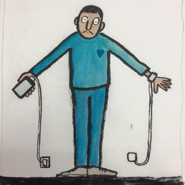 Addicted To Technology Illustrations By Jean Jullien 2