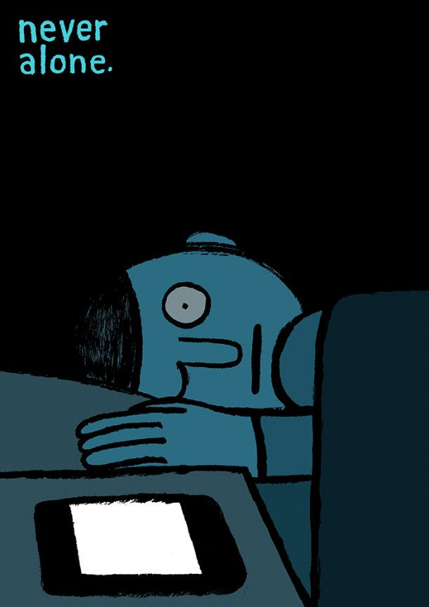 Addicted To Technology Illustrations By Jean Jullien 9