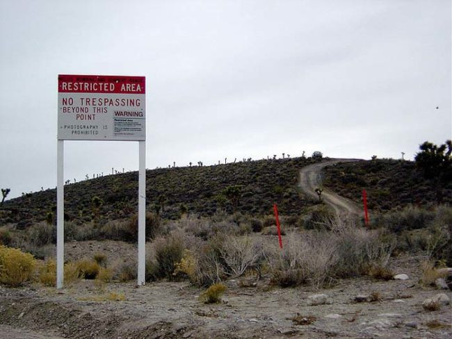 "Google Maps Reveal Mysterious Facility ""Area 6"" Close To Area 51 Used For Testing Secret Drones"
