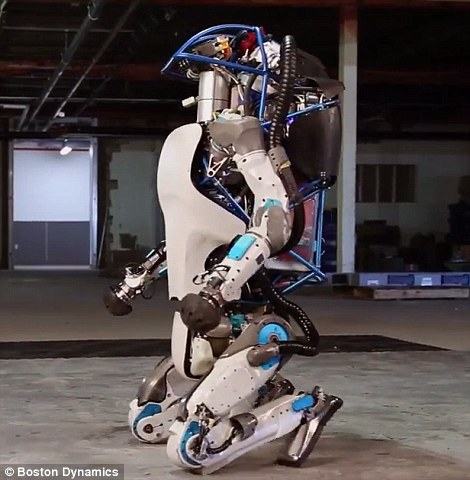 Atlas, The Robot, Will NOT Stay Down! 3