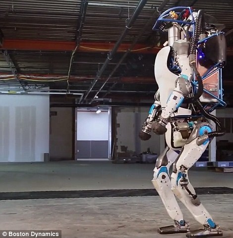 Atlas, The Robot, Will NOT Stay Down! 4