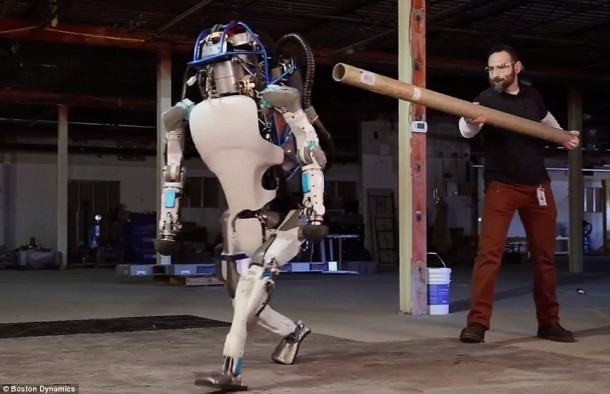 Atlas, The Robot, Will NOT Stay Down!