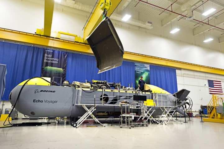 Boeing submarine Echo voyager 7500 miles