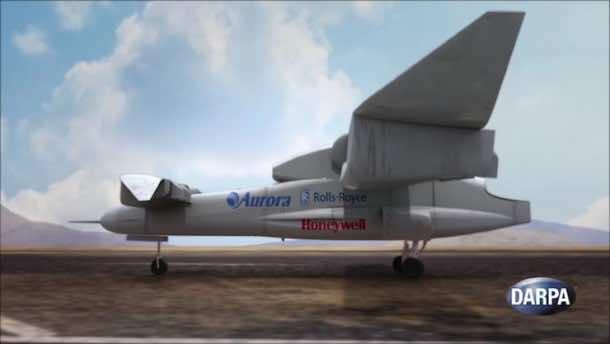 DARPA's VTOL Experimental Plane Will Begin Tests In 2018 3