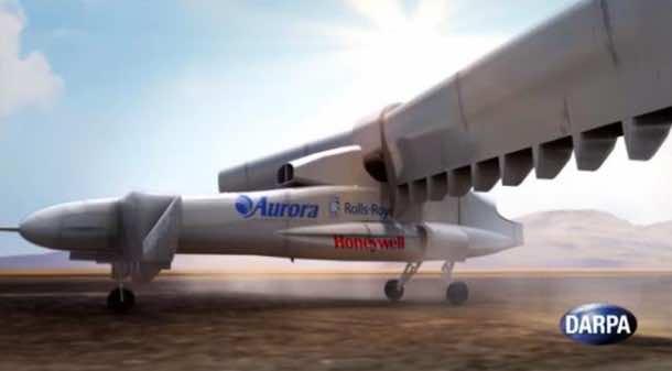 DARPA's VTOL Experimental Plane Will Begin Tests In 2018 5