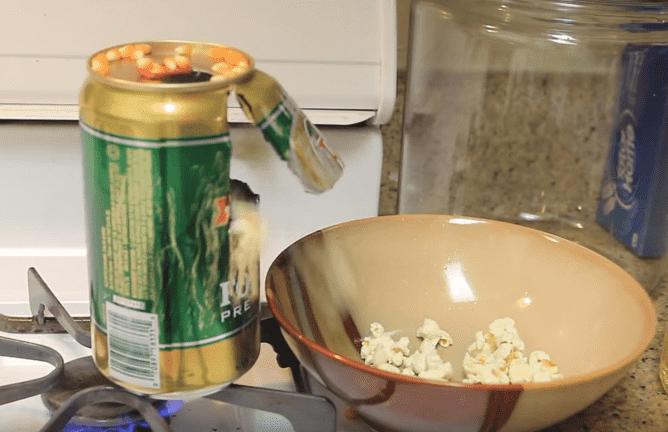 DIY popcorn popper