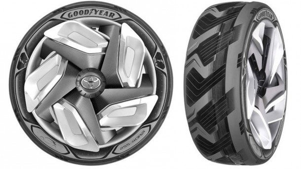 Goodyear Is Developing Tires That Will Generate Electricity