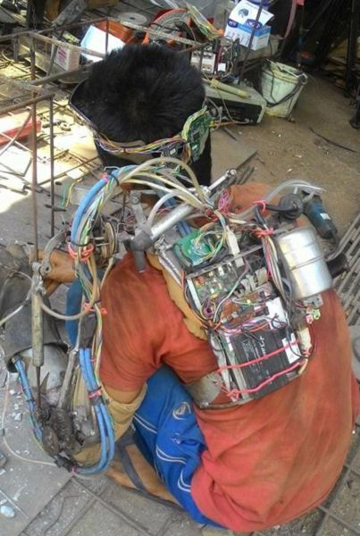 Indonesian Iron Man, A Feat Of Science Or Fake Story 3