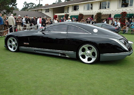 this is the maybach exelero and it costs a whopping $8 million