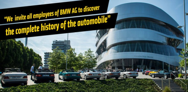 Mercedes Congratulated BMW on Completing 100 Years 3