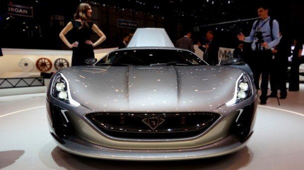 Rimac Unveils Concept One, World's Fastest Electric Car