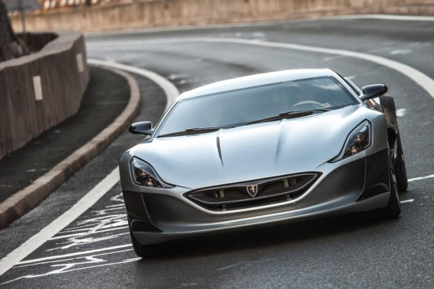 Rimac Unveils Concept One World S Fastest Electric Car 2