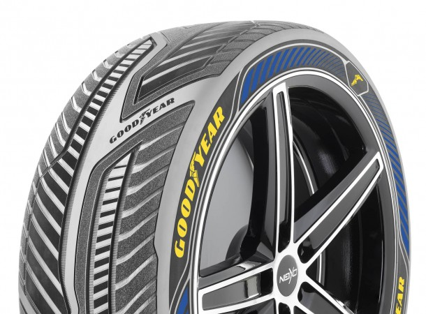 The Tires Of Future For Autonomous Cars By Goodyear
