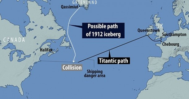 Titanic Sinker Iceberg Was 100,000 Years Old, Scientists Claim 3