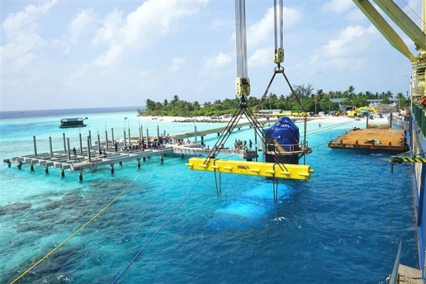 Underwater Hotel Maldieves