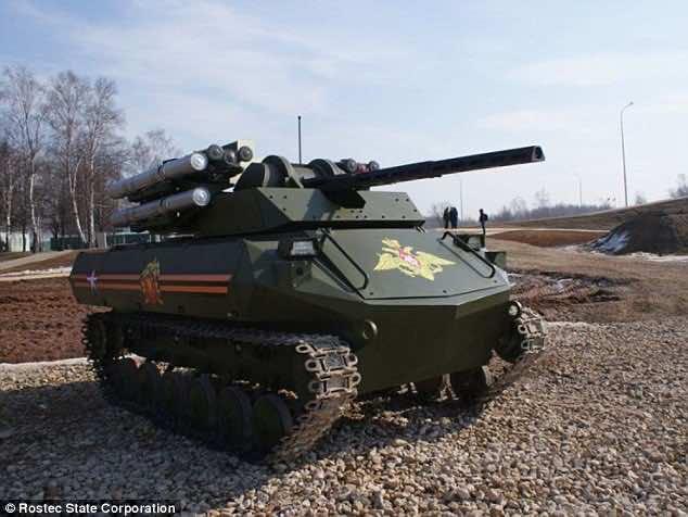 Uran 9 tankbot2
