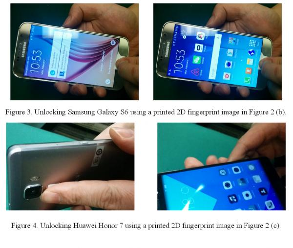 Using A Regular Inkjet Printer You Can Unlock Fingerprint Protected Phones 2