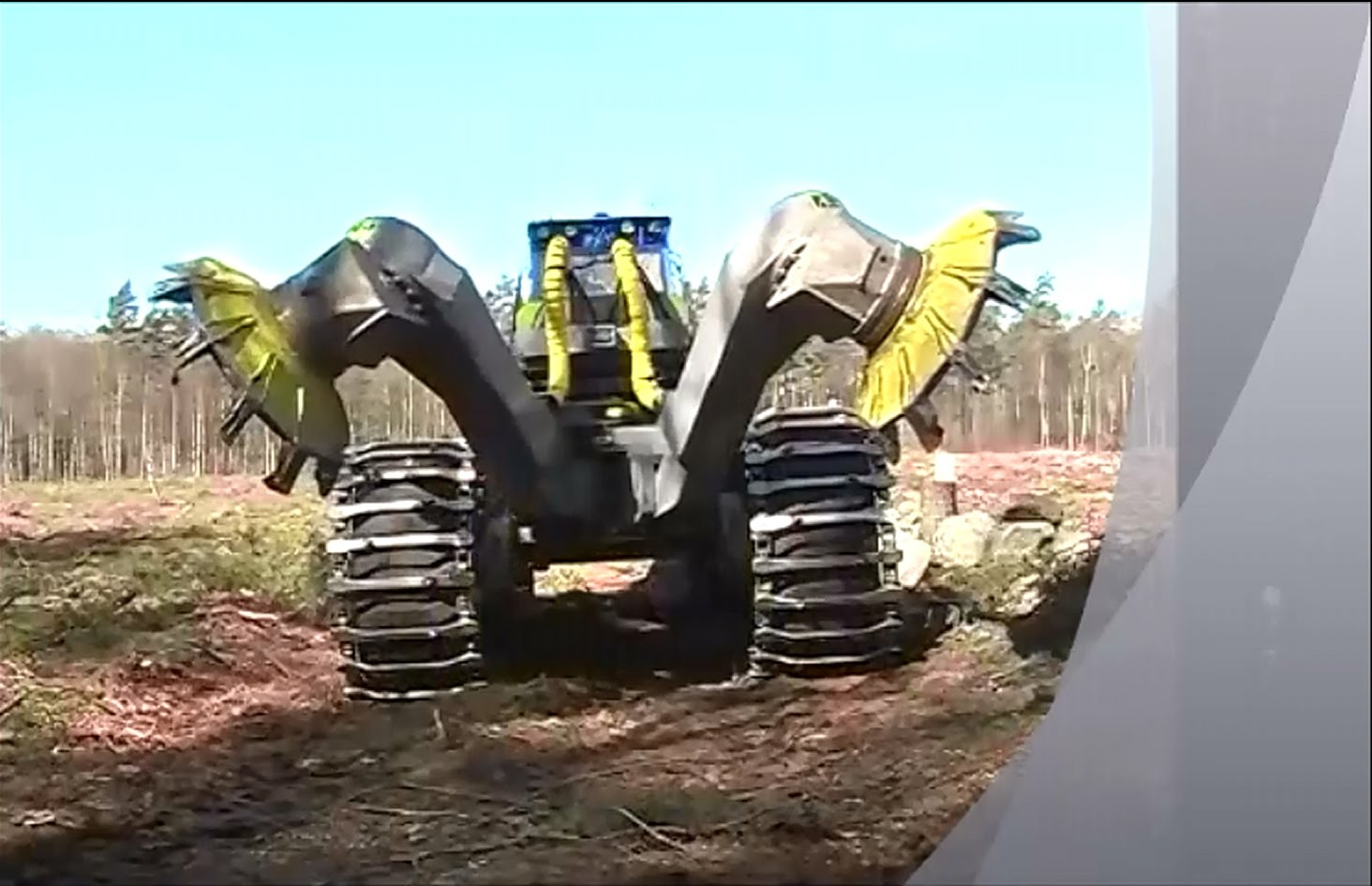 Wonderfully Designed Disc Trencher, The Scarifier