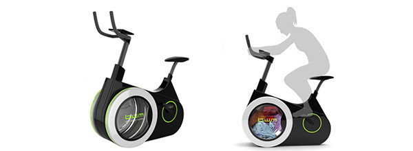 Work Out On This Bike And Get Your Laundry Done As A Side Benefit 7