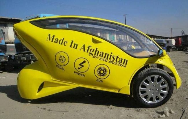 afghan engineer young solar vehicle2