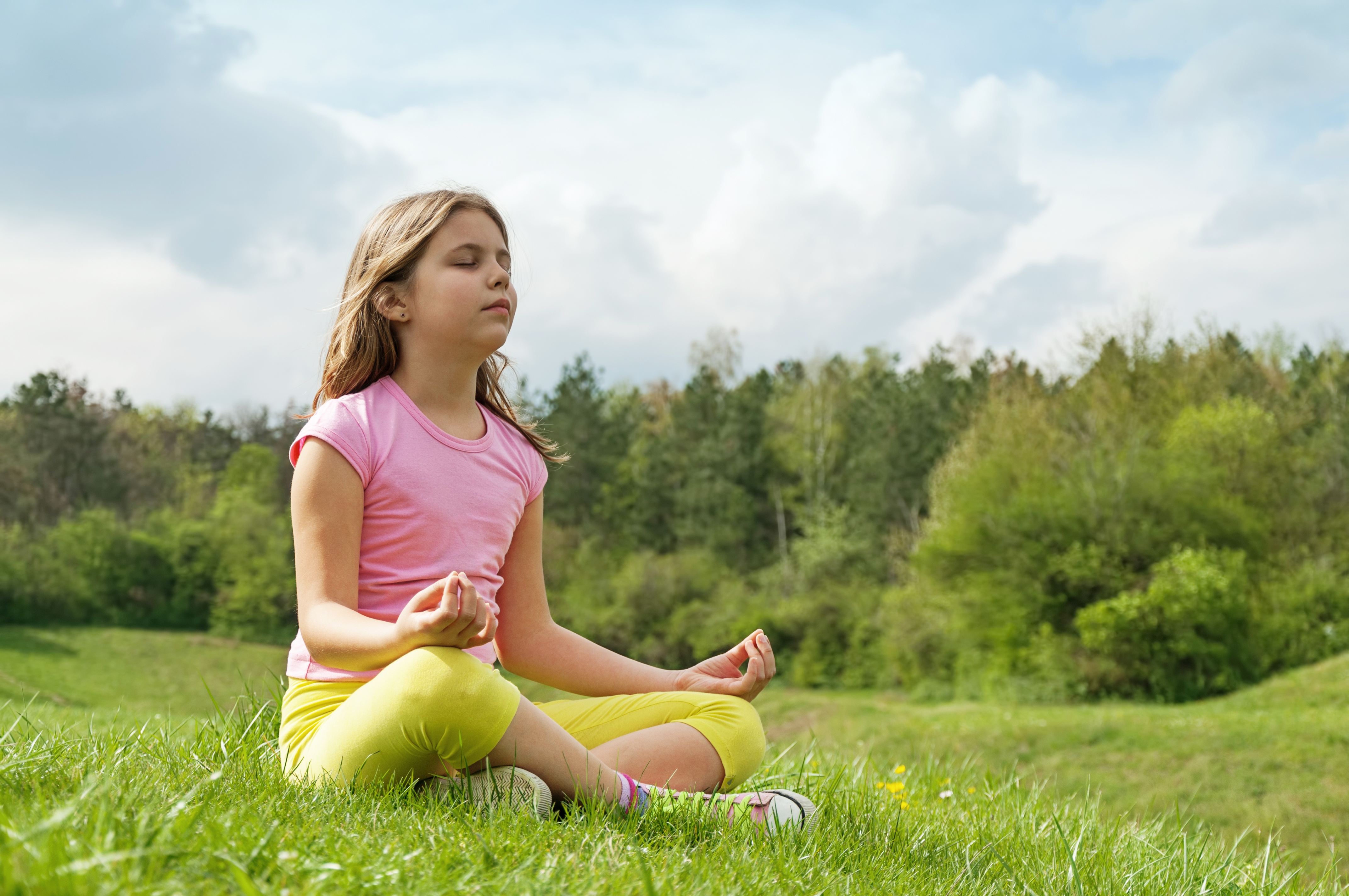 breathing exercise involving inhaling and exhaling