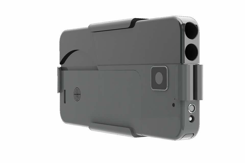 gun conceals as smartphone