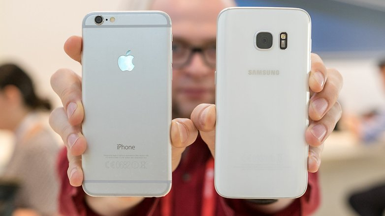iPhone better than S73