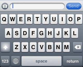 iPhone hidden emoticon keyboard