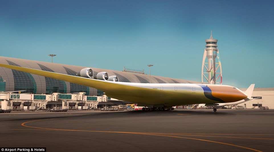 new aircraft concept 2050-5