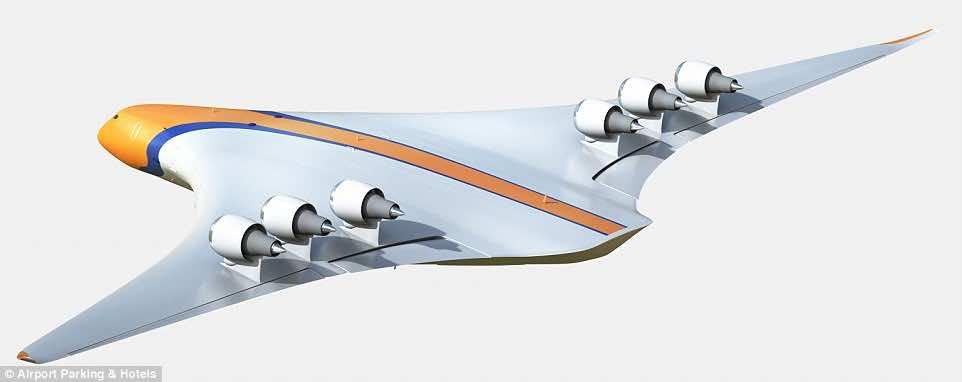new aircraft concept 2050