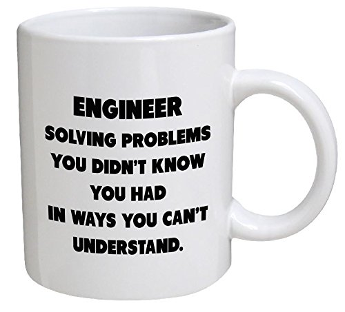 Funny Mug - Engineer. Solving problems