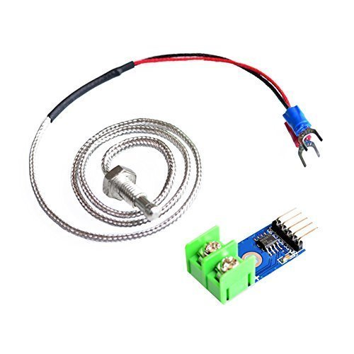 Qunqi MAX6675 Module + K Type Thermocouple Sensor for Arduino