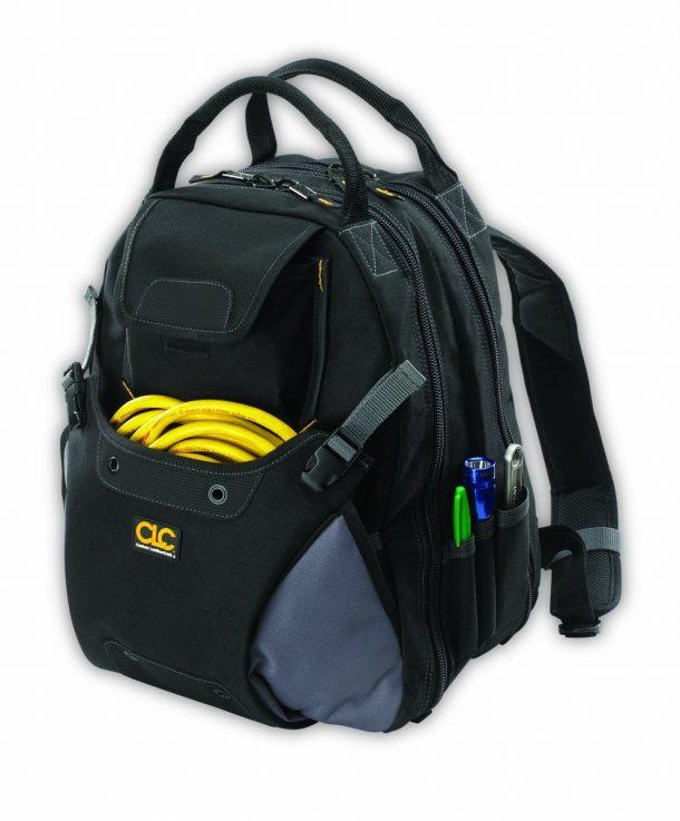 Custom Leathercraft 1134 Tool Backpacks, 48-Pocket