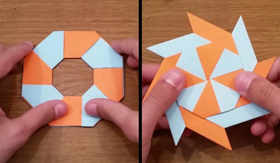Origami Ninja Star | 525x900